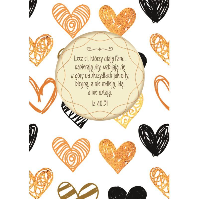 Dziennik z cytatami - Złote serca